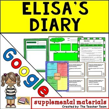 Elisa's Diary Journeys 5th Grade Lesson 5 Google Digital Resource