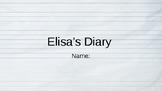 Elisa's Diary Vocab Question Slides