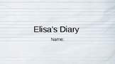 Elisa's Diary Vocab Question Slides