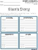 Elisa's Diary Vocabulary Grids