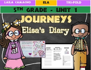 Journeys Grade 5 Trifold (Elisa's Diary)