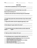 Elisa's Diary Comprehension Questions Houghton Mifflin Journeys