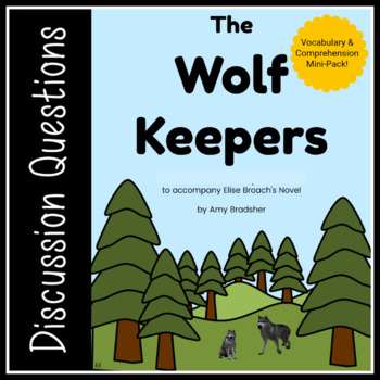 """Elise Broach's """"The Wolf Keepers"""" Mini-Pack"""