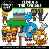 Elisha and the Syrians Clip Art