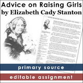 Elizabeth Cady Stanton Primary Source