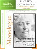 Women History - Elizabeth Cady Stanton - Woman Suffrage Leader (1815 - 1902)