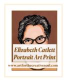 Elizabeth Catlett Portrait Art Print