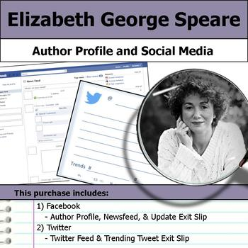 Elizabeth George Speare - Author Study - Profile and Social Media
