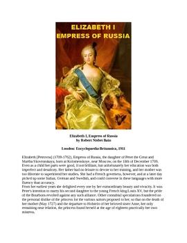 Elizabeth I, Empress of Russia