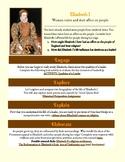 Elizabeth I - Interactive Assignment