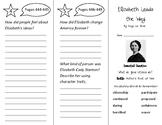 Elizabeth Leads the Way Trifold - Wonders 3rd Grade Unit 5 Week 4