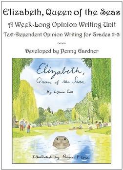 Elizabeth, Queen of the Seas: A Week-Long Opinion Writing
