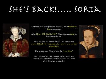 Elizabeth Tudor Lesson