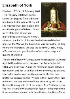 Elizabeth of York Handout