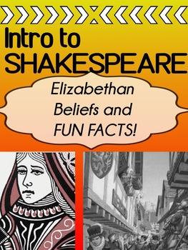 English - INTRO - Elizabethan England