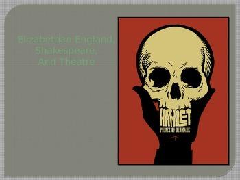 Elizabethan England, Shakespeare, and Hamlet