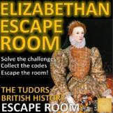 Elizabethan England/Tudor Escape Room:Exploration, Queen E
