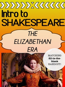 Elizabethan Era - INTRO - Shakespeare's World
