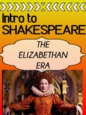 Elizabethan Era - INTRO - Shakespeare's World POWERPOINT