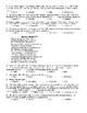 Elizabethan & Shakespeare Sonnet Test & KEY