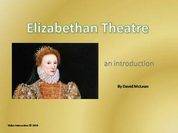 Elizabethan Theater - the drama series