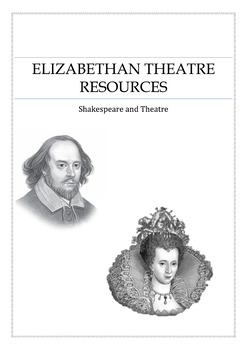 Elizabethan Theatre / Shakespeare Resources and Class test with Marking Criteria