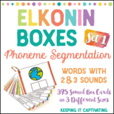 Elkonin Boxes {Set 1}