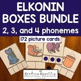 Elkonin Boxes: Phoneme Segmentation Bundle (2, 3, and 4 Phonemes)