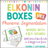 Elkonin Boxes {Set 2}