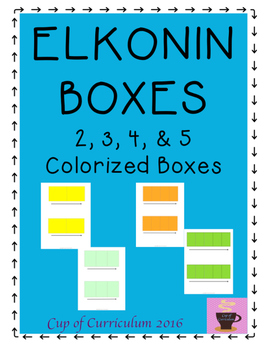 Elkonin Boxes {Workmats for Phoneme Segmentation}