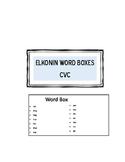 Elkonin Boxes