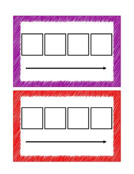 Elkonin Boxes (4 Boxes)