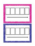 Elkonin Boxes (5 Boxes)