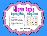 Elkonin Boxes: Beginning, Middle, & Ending Sounds