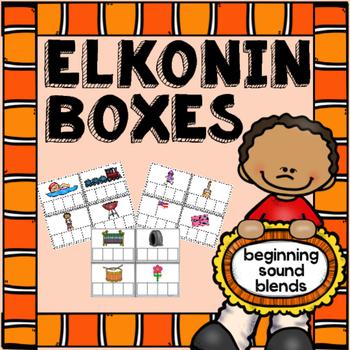 Beginning Sound Blends Elkonin Boxes