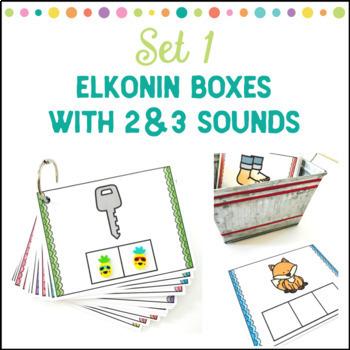 Elkonin Boxes Bundle