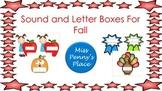 Elkonin Boxes For Fall