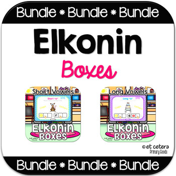 Elkonin Boxes PowerPoint Bundle ~ CVC and CVCe Words