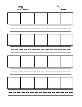 Elkonin Boxes: Segmenting Pages