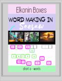 Elkonin Boxes, Short a , Digital Word Making - Phoneme Segmentation in Seesaw
