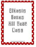 Elkonin Boxes Through the Year