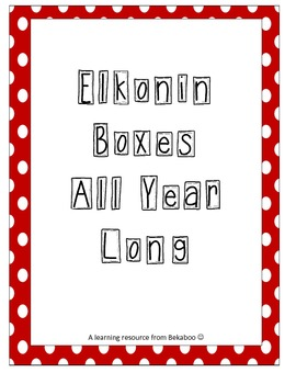 Elkonin Boxes Through the Year