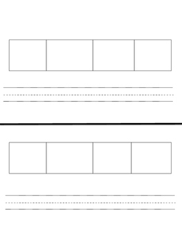 Elkonin Boxes Worksheet