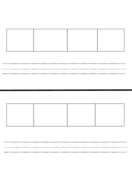 Elkonin Boxes Worksheet