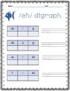 Elkonin Boxes: all short vowels, ch, sh, th, and qu