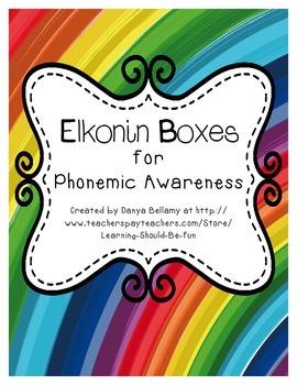 Elkonin Boxes for Phonemic Awareness