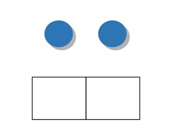 Elkonin Boxes with Pictures - 2-Phoneme Words (Phonemic Awareness)