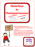 Elkonin Phonemic Awareness Task Cards