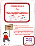 Elkonin Phonemic Awareness Task Cards