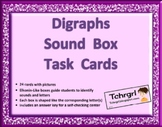 Elkonin Phonics Sound Box Task Cards Digraphs